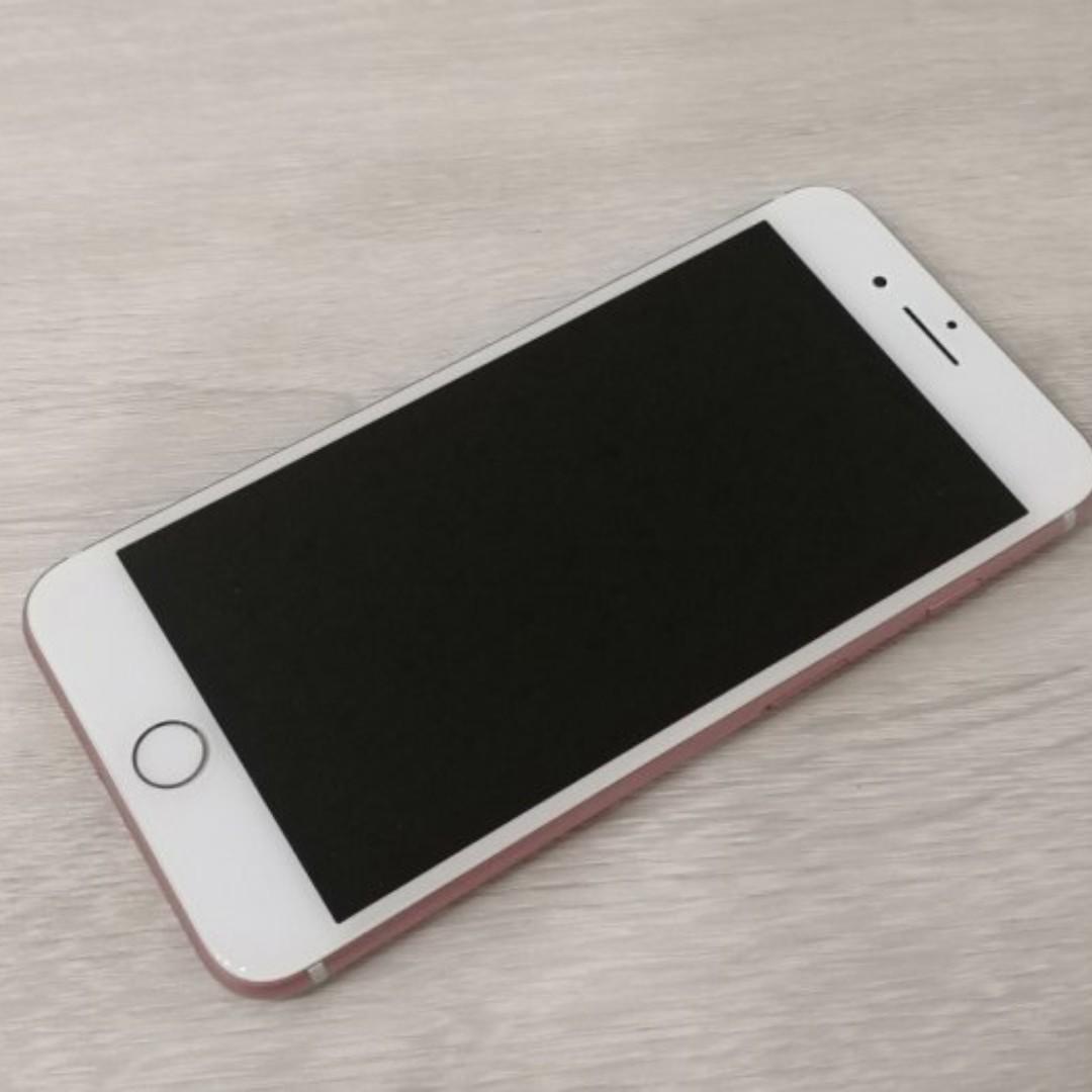 二手機 蘋果 Apple iPhone7 Plus/IP7+ 32G 粉色 九成新/中古機/原廠保固至2018/9月22日