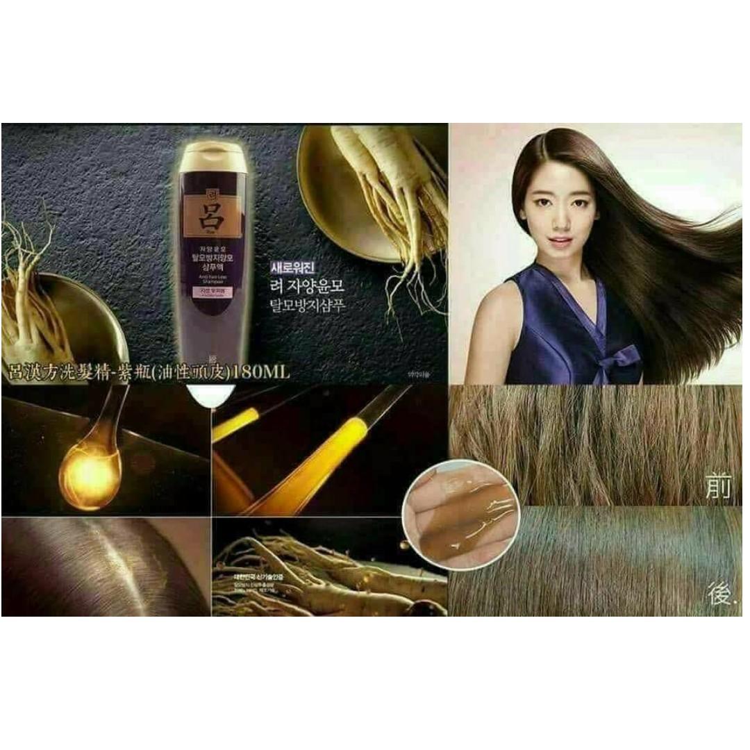 呂漢方洗髮精-紫瓶(油性頭皮適用) Lv Han Fang Shampoo - Purple bottle (oily scalp apply)