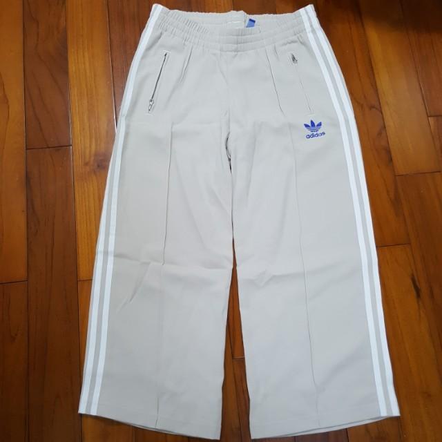 Adidas original 寬版褲(全新)