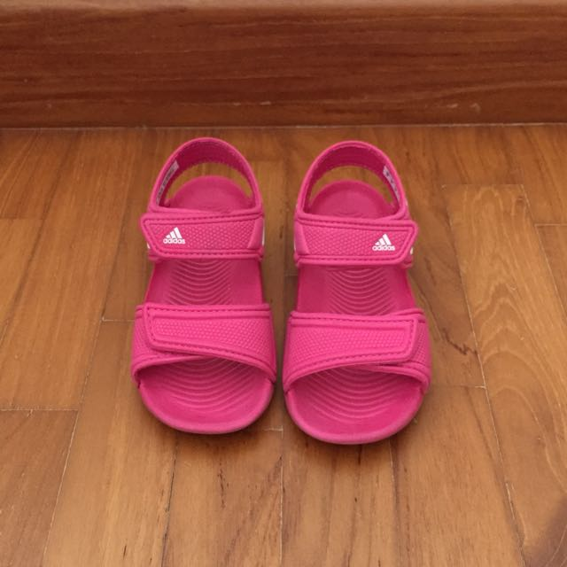 ed9b10ab9c75 Adidas Sandals for toddler girl on Carousell