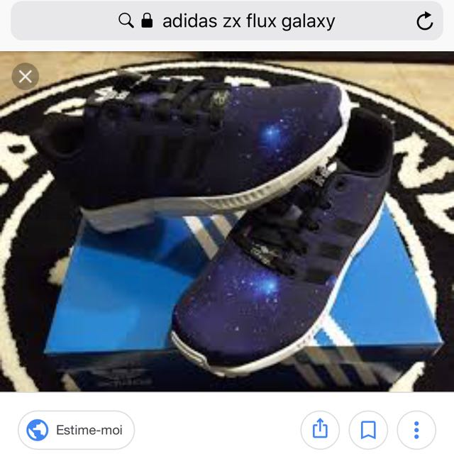 big sale 3dee7 c9065 Adidas ZX Flux Galaxy UK5