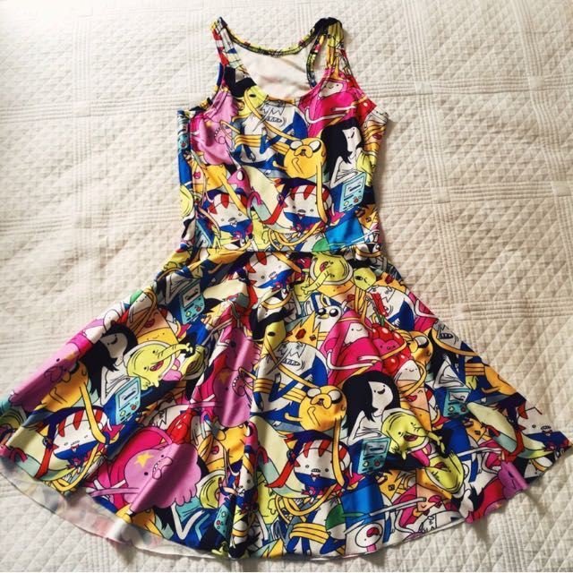 Adventure Time Skater Dress