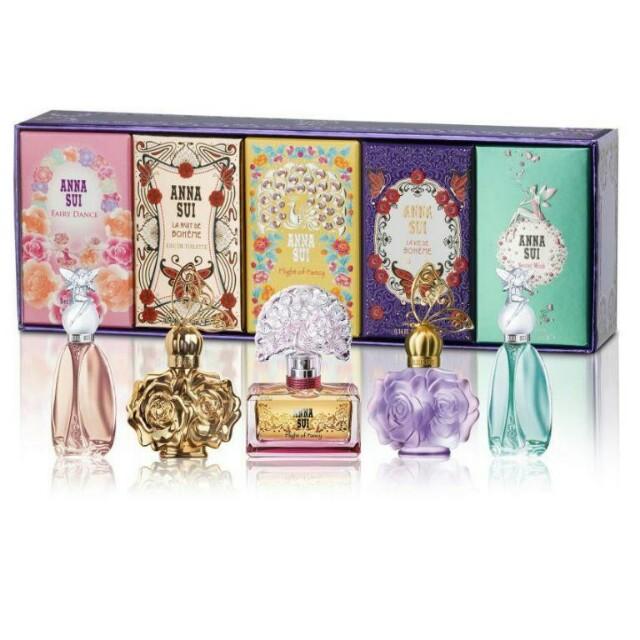 Anna sui miniature parfum gift set