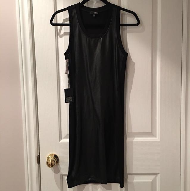 Aritzia wilfred Free black dress