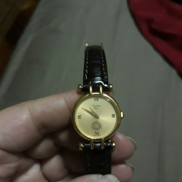 Authentic Christian Dior Watch