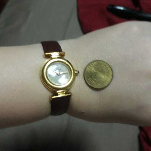 Authentic Fendi Mother of Pearl Watch