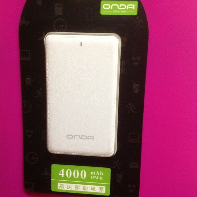 Authentic Onda Super Slim 4000mAh Powerbank