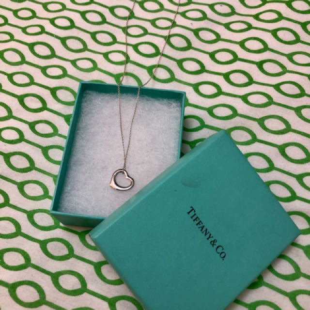 Authentic Tiffany Elsa Necklace