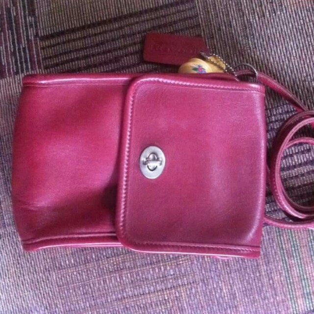 REPRICED - Authentic Vintage Coach Sling Bag