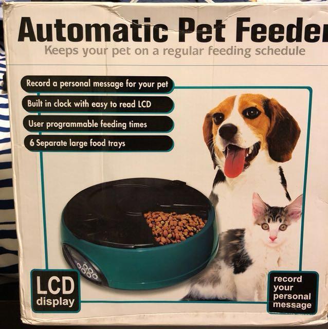 Automatic Pet Feeder #Contiki2018