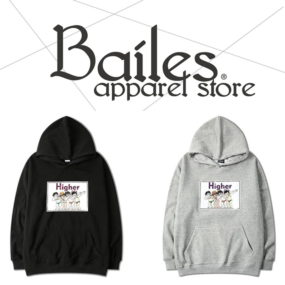 貝里斯Bailes【AA060】歐美版 / 男女款 歐美款街頭趣味惡搞圖案設計內裏刷毛保暖連帽帽T