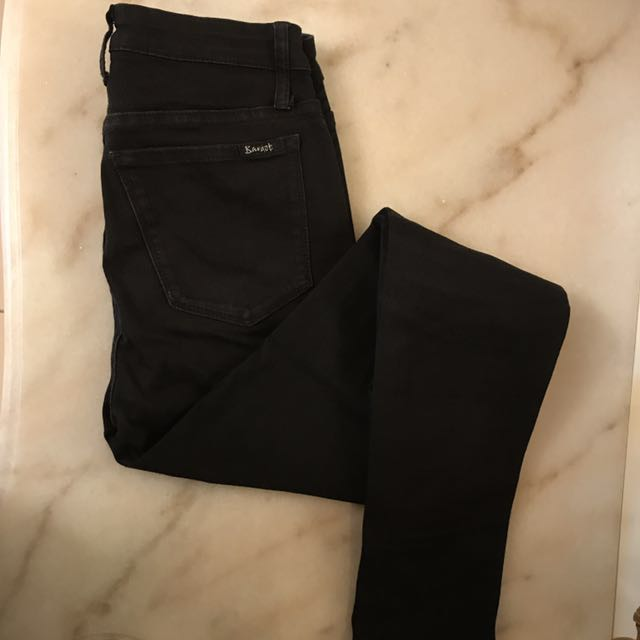 Bardot Black High Waisted Jeans
