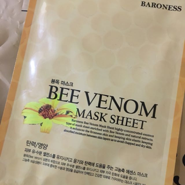 Baroness - Bee Venom Mask Sheet