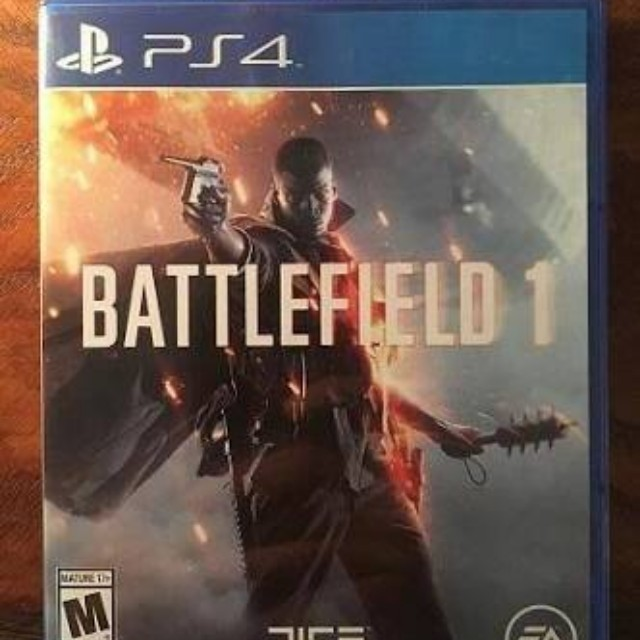 BATTLEFIELD 1 PS4 NEW