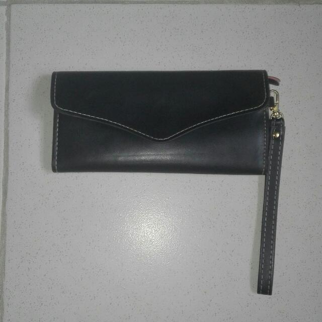 Black Long Wallet From Bench/For Her