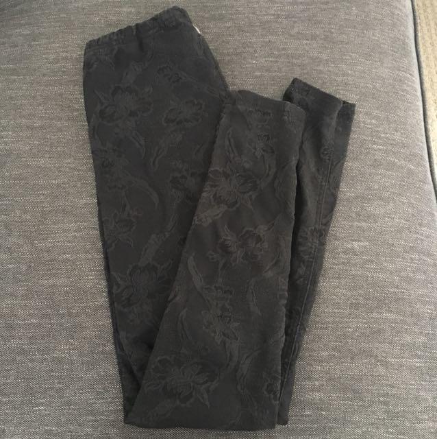 Billabong Floral Print Stretch Pants