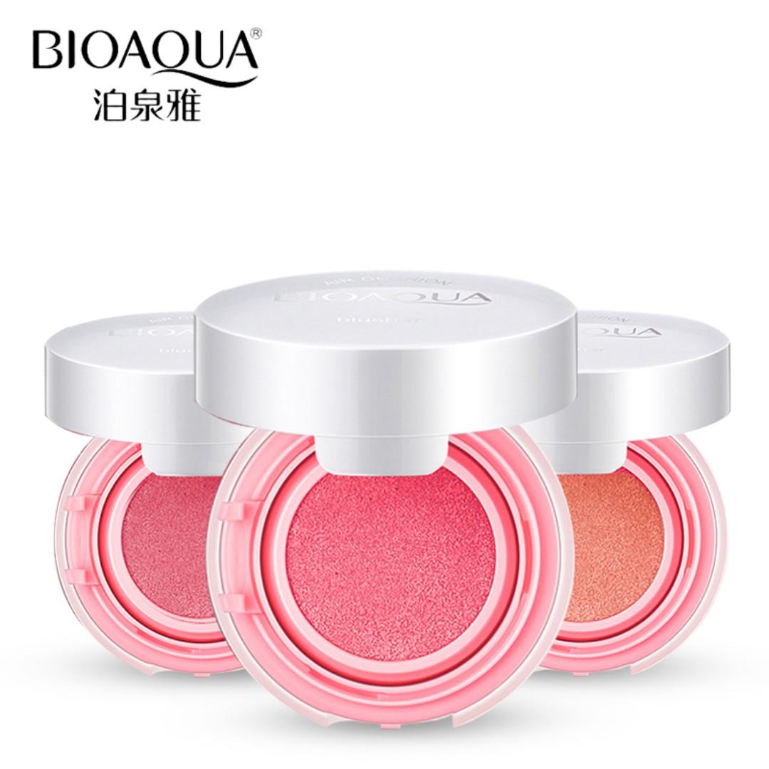 Bioaqua Brand Air Cushion Blush Bronzer Makeup Bio Aqua Aircusion Rosy Health Beauty On Carousell