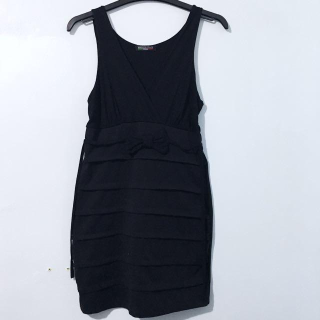 Black Dress (tight fit)