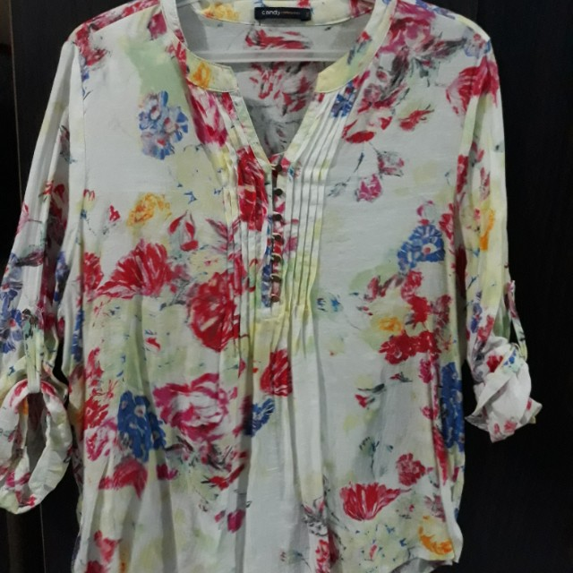 Blouse Floral Good quality