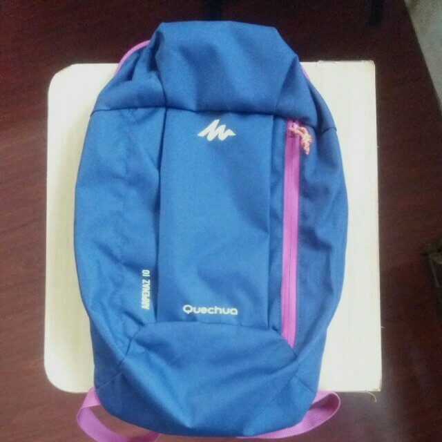 Blue & Violet Backpack