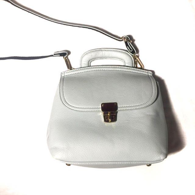 Blue Convertible Bag (Sling/Backpack)