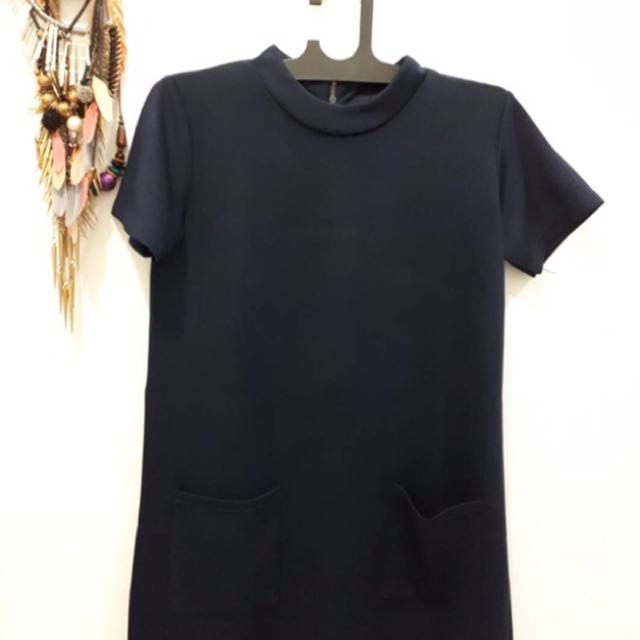 BLUE DRESS FIT TO SIZE M