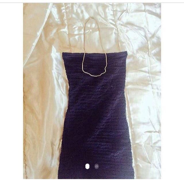 Bodycon Black Dress Topshop