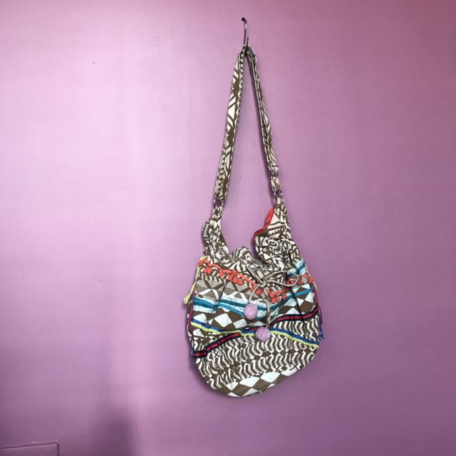 Bohemian Shoulder / Crisscross Bag