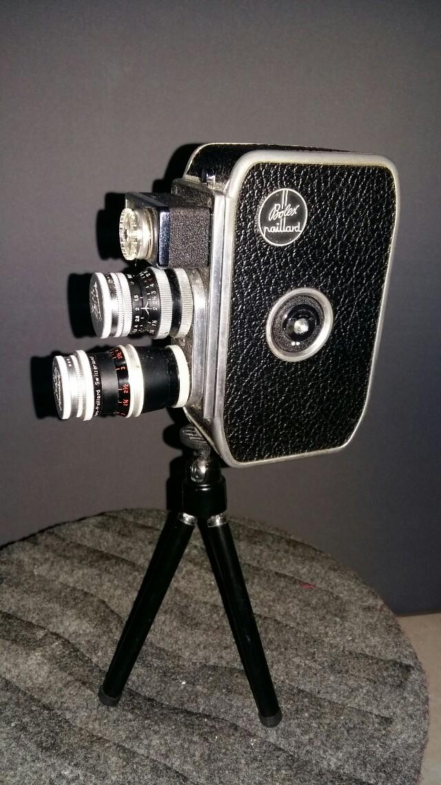 Bolex paillard camcorder