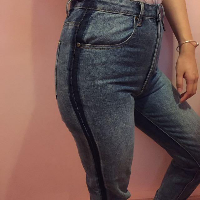 boohoo Mum Jeans