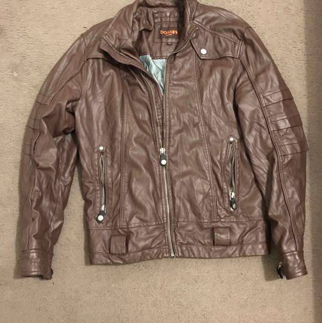Bossini Large Leather Jacket