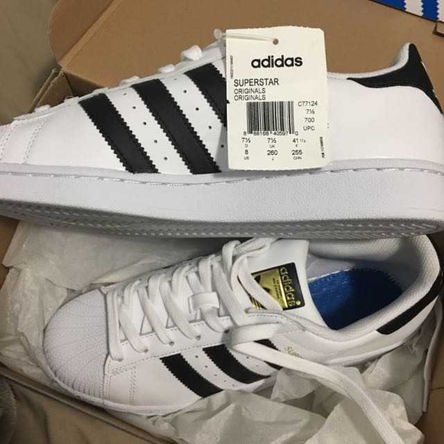 Brand new adidas superstars