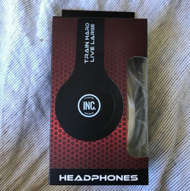 Brand new sport nutrition headphones
