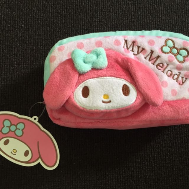 BRAND NEW WITH TAG Authentic My Melody Pouch