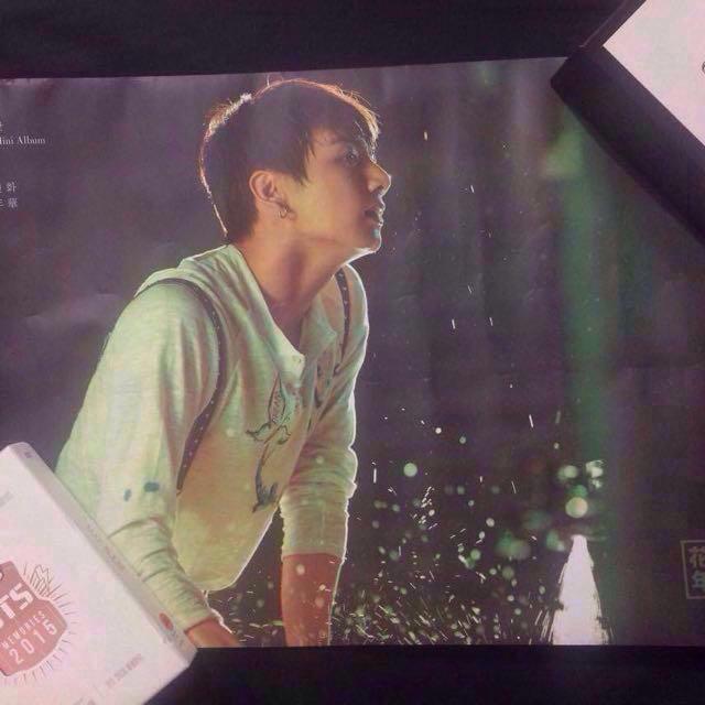 BTS hyyh pt.2 poster jungkook official