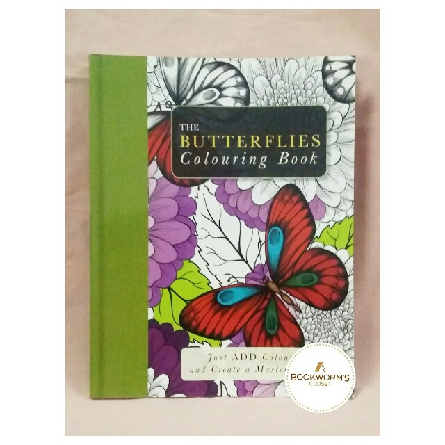 Butterlies Colouring Book