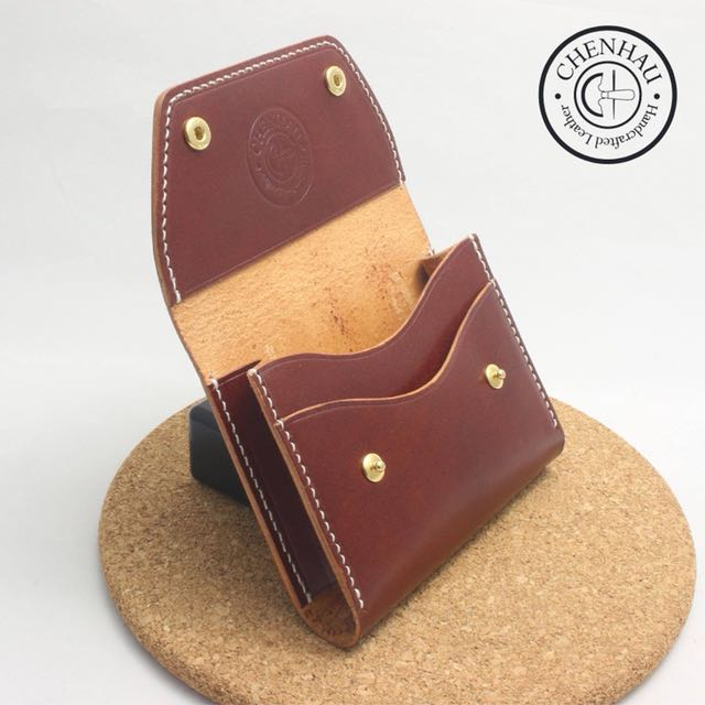 Cardholder Handcraft Leather Valentines Day Gift Luxury