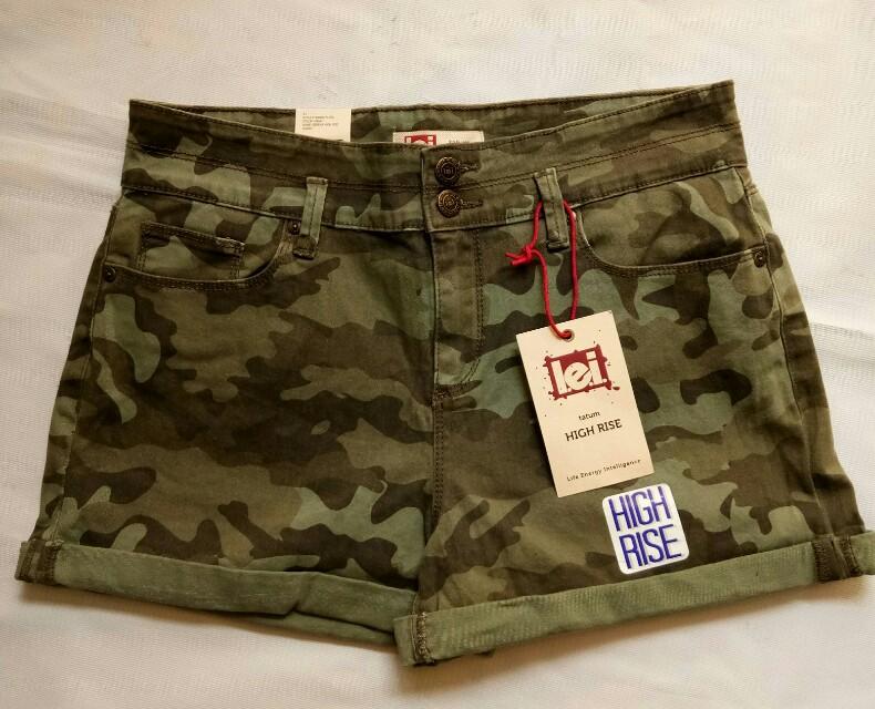 Celana hot pants Army