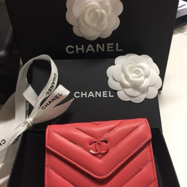 Chanel card holder - wallet