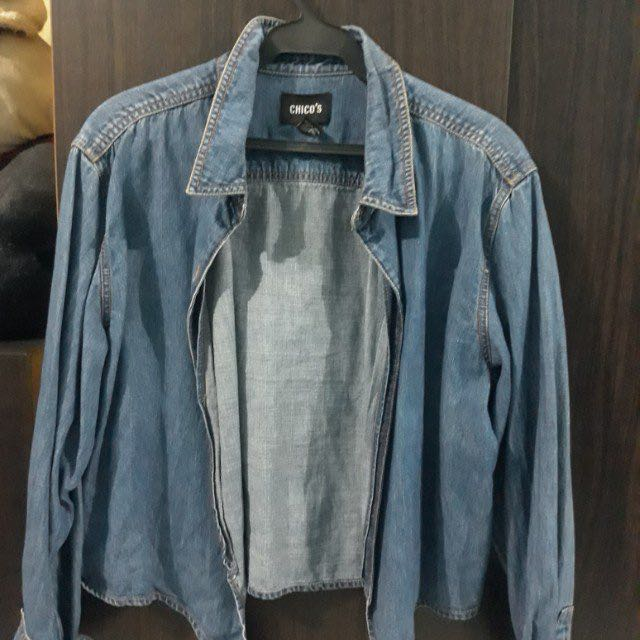 Chicos Denim Jacket