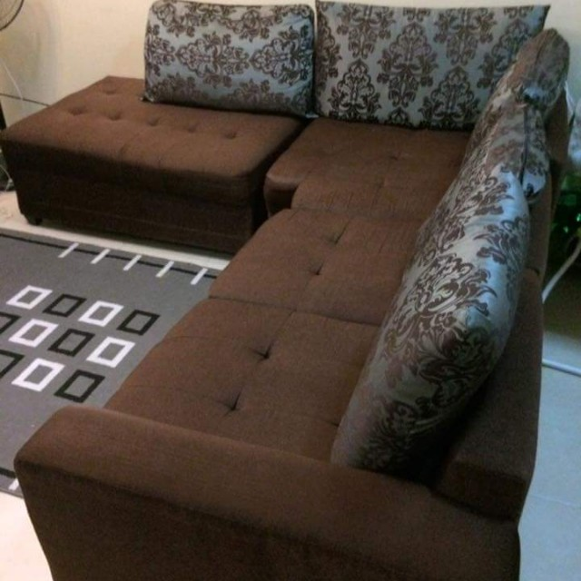 Chocolate Brown Sofa