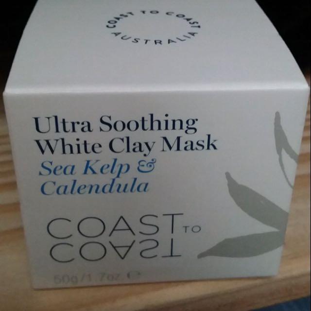 Coast to Coast White Clay Mask