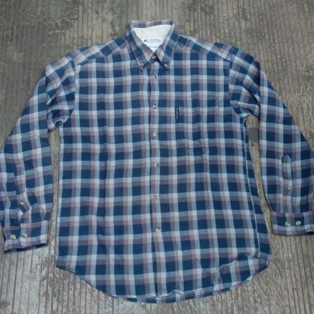 Columbia flannel shirt