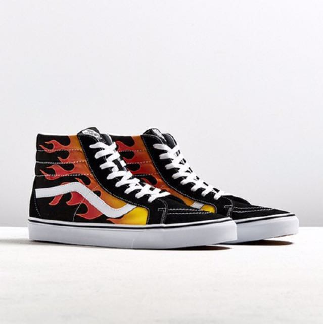 e0d4215255 Contiki2018 Vans Flame High Top Sneakers