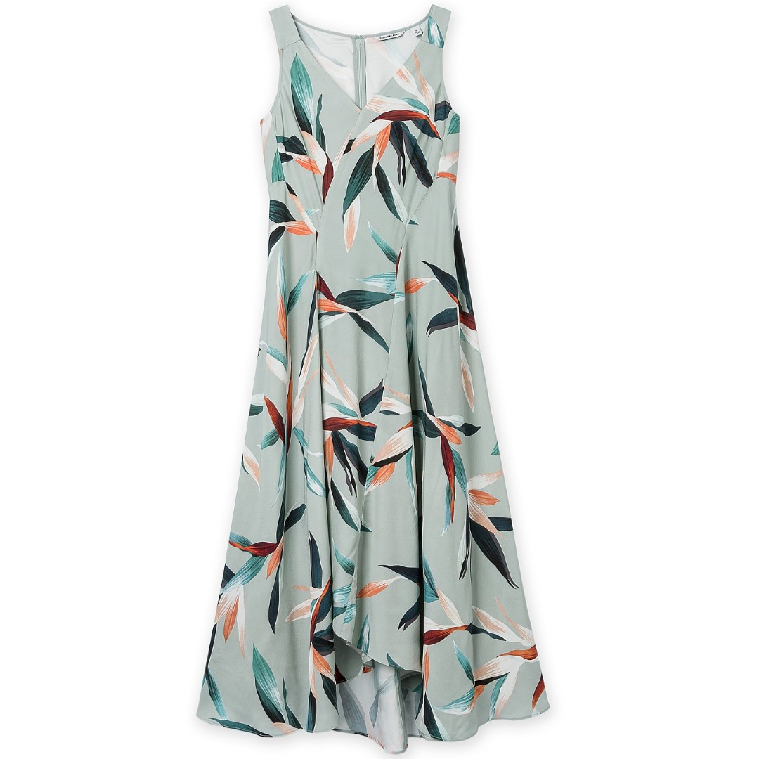 Country Road Tropical Print Maxi Dress - Brand New! RRP$199