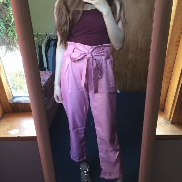 cute pink pants