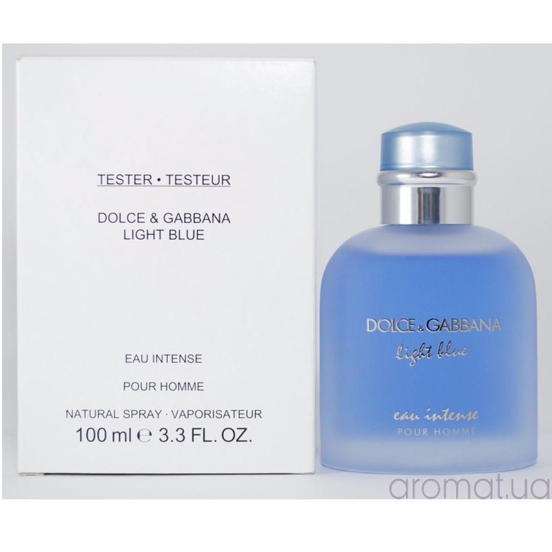 46f2eb104 Dolce   Gabbana Light Blue Eau Intense EDP for Men Tester