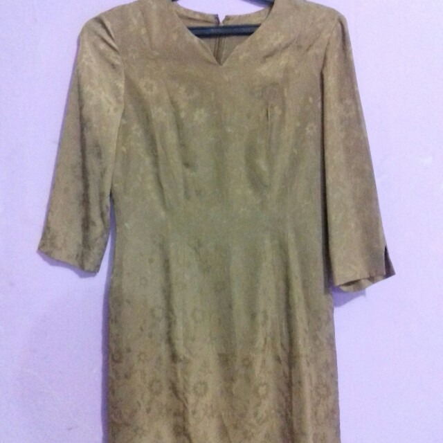 Dress vintage brown
