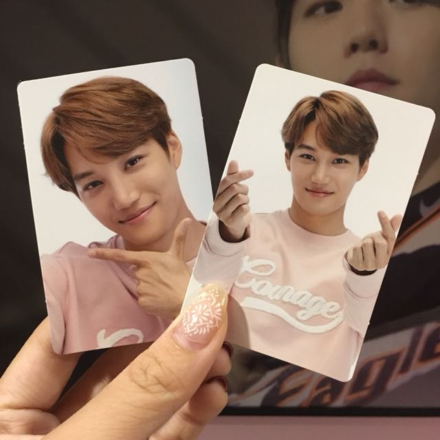 EXO KAI POWER UP LIMITED PHOTOCARD SET