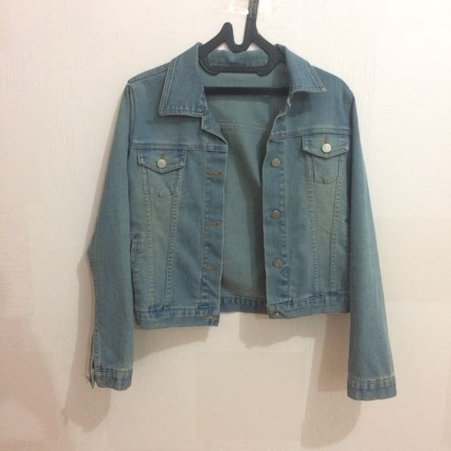 Faded Jeans Jacket